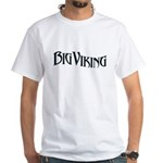 Big Viking White T-Shirt