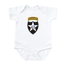 2nd Infantry Div with Ranger Infant Bodysuit