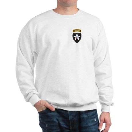 2nd Infantry Div with Ranger Sweatshirt