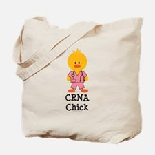 CRNA Chick Tote Bag