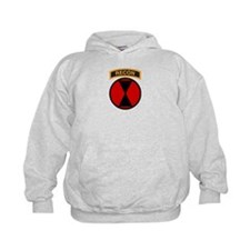 7th Infantry Div with Recon T Hoodie