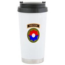 9th Infantry Div with Recon T Travel Mug