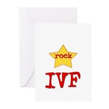 Rock Star IVF Greeting Cards (Pk of 10)