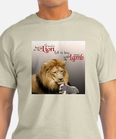 Lion  Lamb flattened T-Shirt