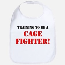 Training to be a Cage Fighter - Bib