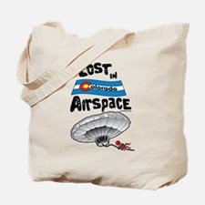 Balloon Boy Lost In Space Tote Bag