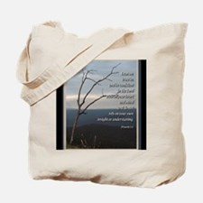 Proverbs 3:5 Tote Bag