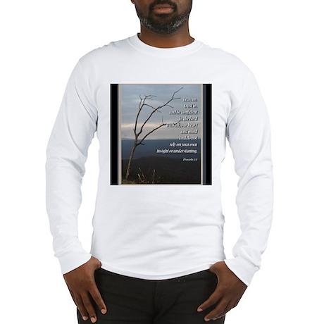 Proverbs 3:5 Long Sleeve T-Shirt