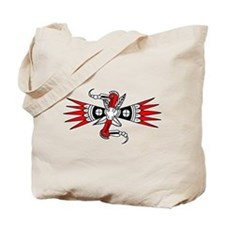 Southeastern Woodpecker Motif Tote Bag