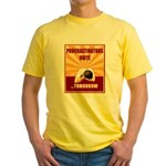 Procrastinators Unite Tomorrow Yellow T-Shirt