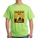 Procrastinators Unite Tomorrow Green T-Shirt