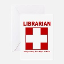 Libguard Greeting Card
