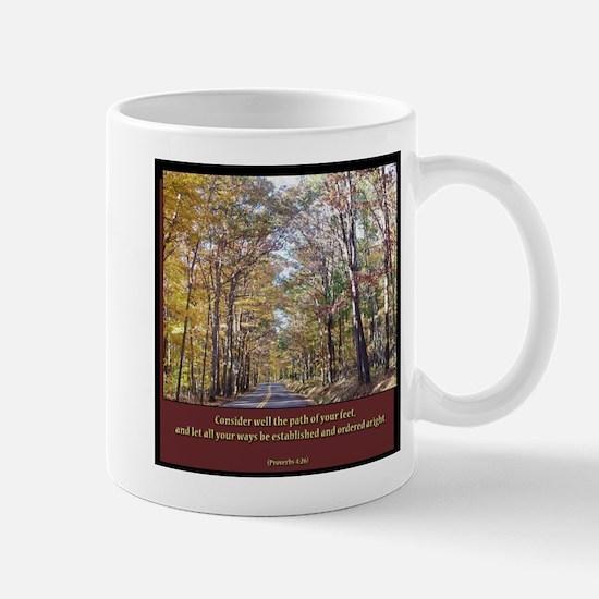 Proverbs 4:26 Mug