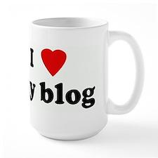 I Love my blog Mug