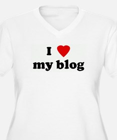 I Love my blog T-Shirt