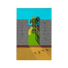 Messiah - Serpent Rectangle Magnet