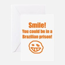 braziljail Greeting Cards
