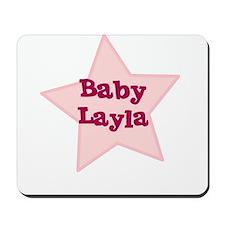 Baby Layla Mousepad