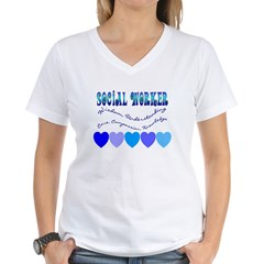 Social Worker III Women's V-Neck T-Shirt