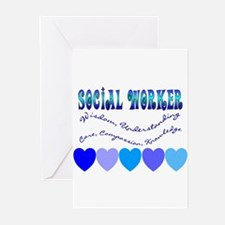 Social Worker III Greeting Cards (Pk of 10)
