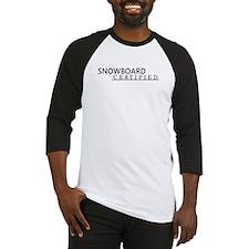 Snowboard Certified Baseball Jersey