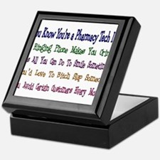 pharmacists II Keepsake Box
