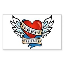 Tattoo Twilight Forever Rectangle Decal
