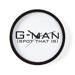 G-Man Wall Clock