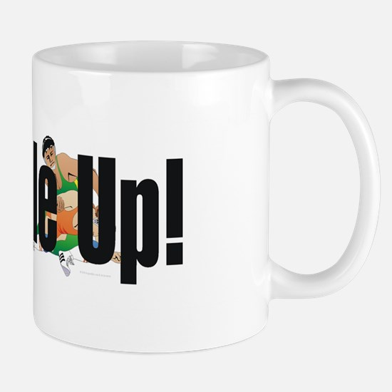 Wrestling Slogan Mug