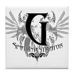 G Spot Investigator Tile Coaster