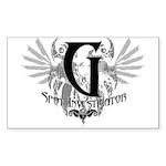 G Spot Investigator Rectangle Sticker