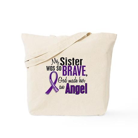 Angel 1 Sister Pancreatic Cancer Tote Bag