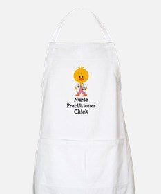Nurse Practitioner Chick BBQ Apron