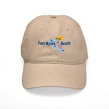 Fort Myers Beach FL Baseball Cap