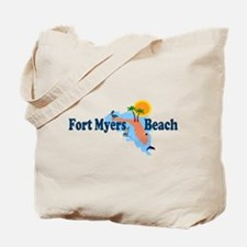 Fort Myers Beach FL Tote Bag