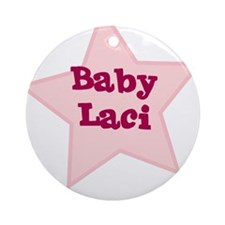 Baby Laci Ornament (Round)