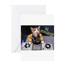 Unique Turntable Greeting Card