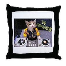 Funny Kitten Throw Pillow