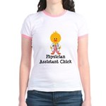 Physician Assistant Chick Jr. Ringer T-Shirt