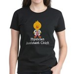 Physician Assistant Chick Women's Dark T-Shirt