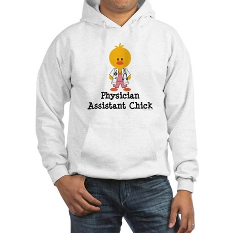 Physician Assistant Chick Hooded Sweatshirt
