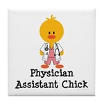 Physician Assistant Chick Tile Coaster