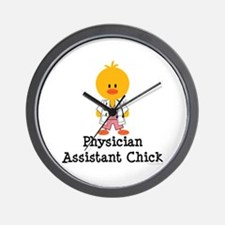 Physician Assistant Chick Wall Clock