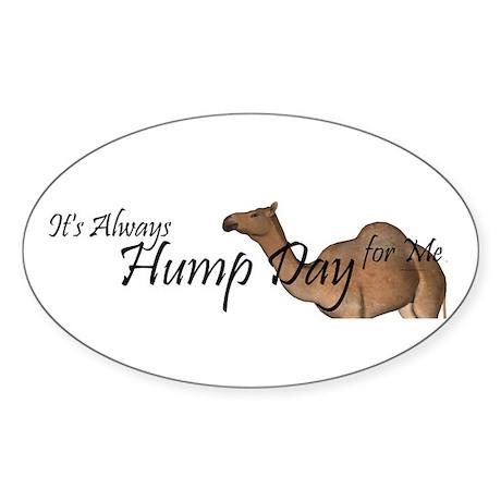 Hump Day Sticker (Oval)