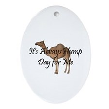 Hump Day Ornament (Oval)
