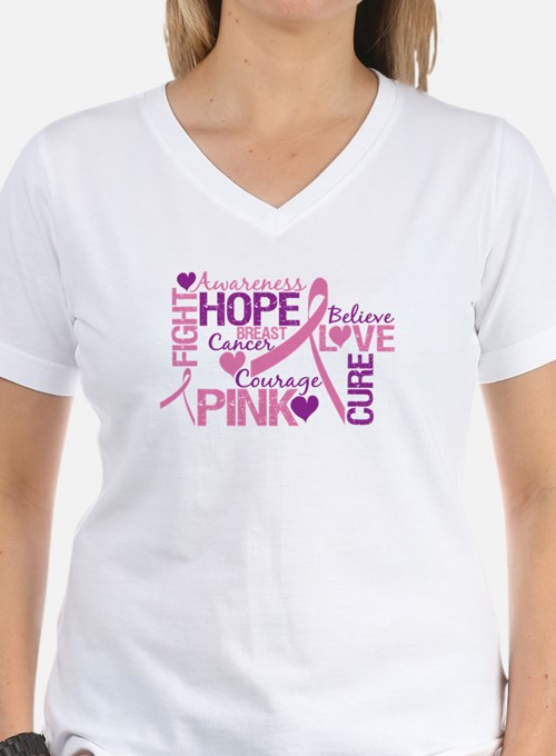 Breast Cancer Words Shirt