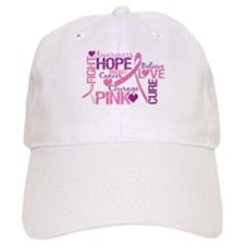 Breast Cancer Words Hat