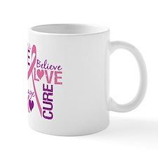 Breast Cancer Words Mug