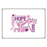 Breast cancer Banners