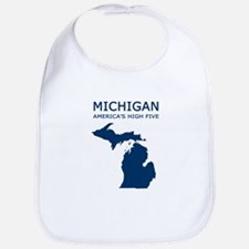 Funny Michigan Bib